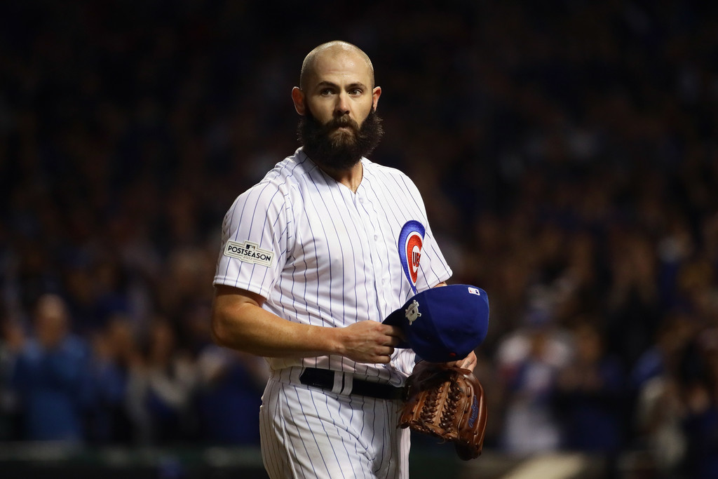 Jonathan Daniel/Getty Images North America via Zimbio - No, the Brewers shouldn't go after Arrieta, or any big name free agent pitcher.