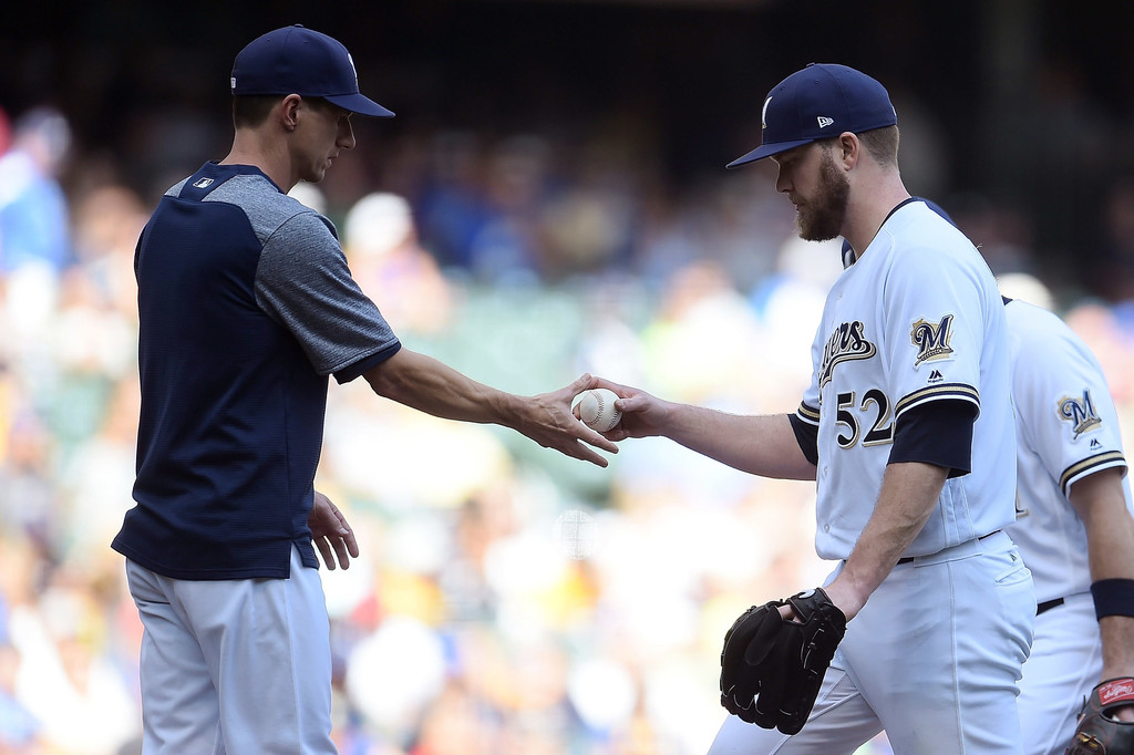 Step back from the ledge: Brewers pitching better than mostthink