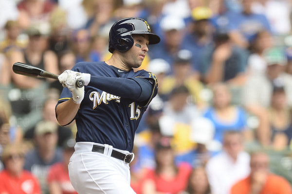 Neil Walker of the Milwaukee Brewers / Stacy Revere/Getty Images North America via Zimbio