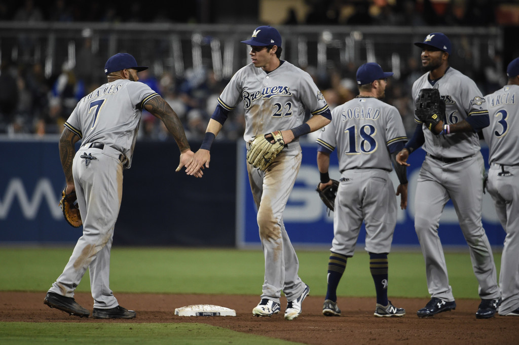 The straw that stirs the drink: Christian Yelich is the heart of the 2018Brewers