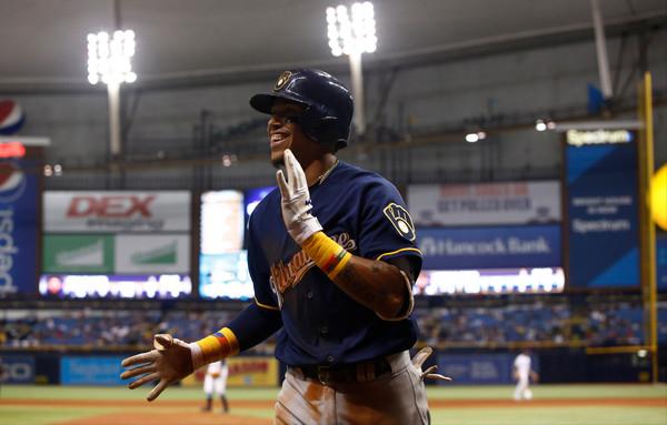Orlando Arcia Milwaukee Brewers - Brian Blanco/Getty Images North America via Zimbio