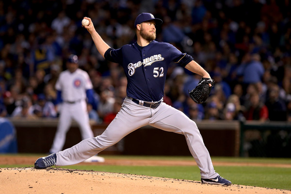 Jimmy Nelson of the Milwaukee Brewers. Dylan Buell/Getty Images North America via Zimbio